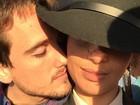 Camila Pitanga posta foto romântica com o namorado, Igor Angelkorte
