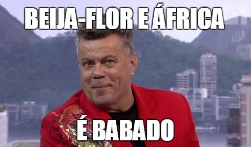 Sobre o samba-enredo da Beija-Flor (Foto: Reprodução/TV Globo)