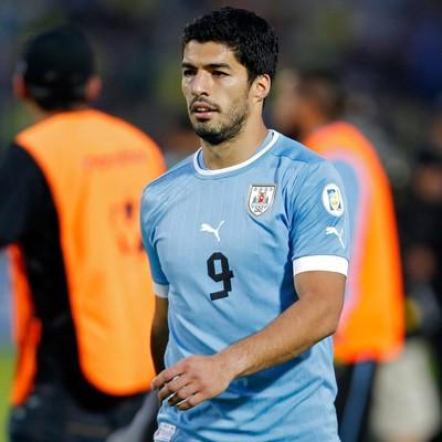 luis suarez uruguai (Foto: AP)