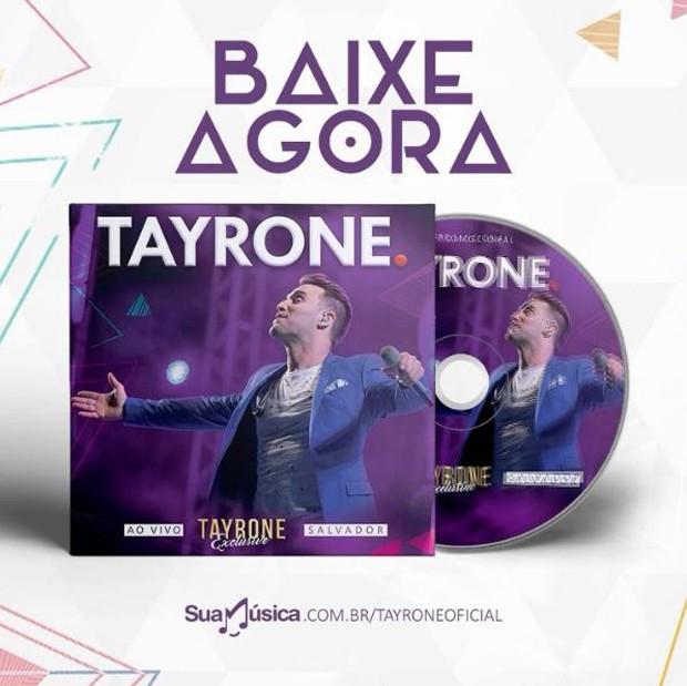 Novo CD de Tayrone (Foto: Reprodução/Instagram)
