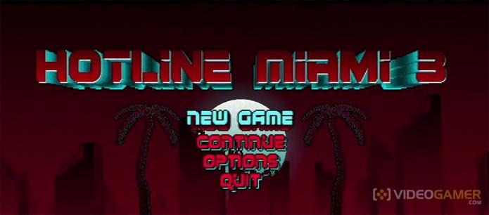 Hotline Miami 3 aparece no jogo anterior (Foto: Reprodução/Videogamer)