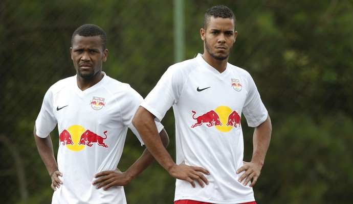 Willie e Maxwell atacantes RB Brasil (Foto: Divulgação / Red Bull Brasil)