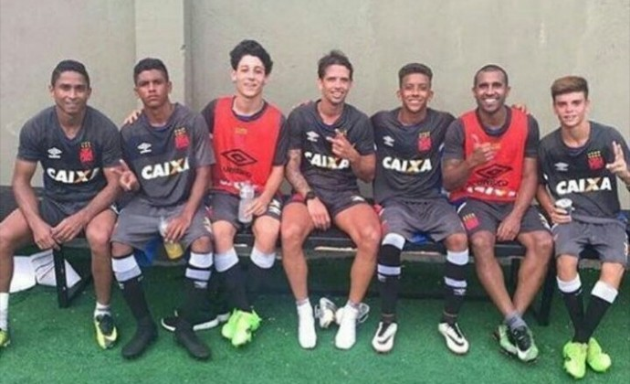 Diguinho, Jorge Henrique, Julio Cesar, Vasco (Foto: Reprodução/Instagram)