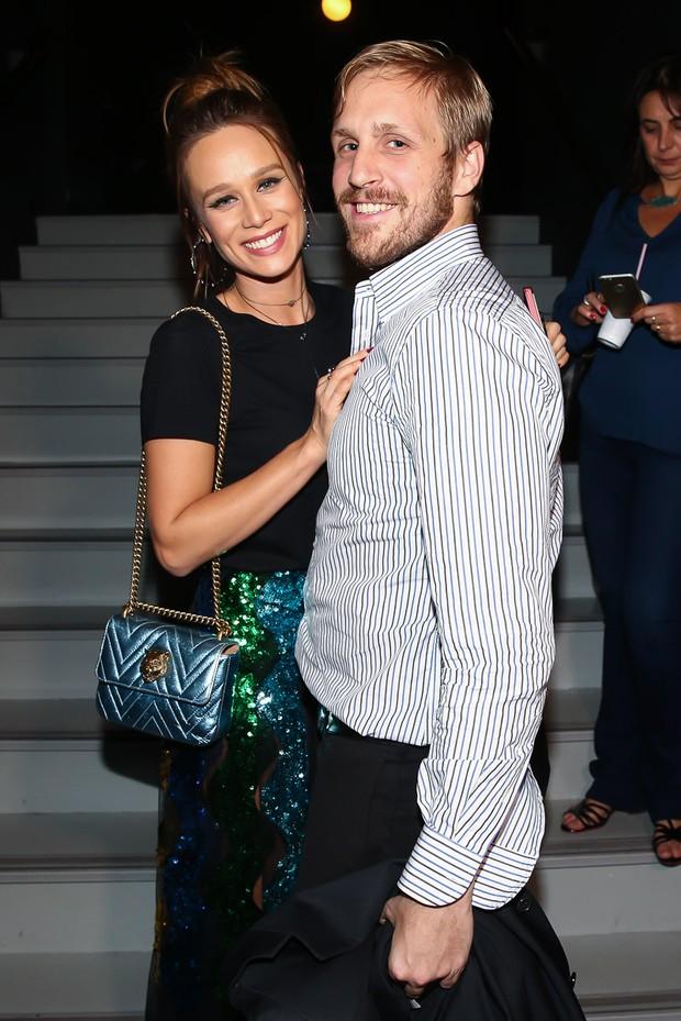 Mariana Ximenes e o namorado, o empresário Felippo Adorno (Foto: Manuela Scarpa/Brazil News)