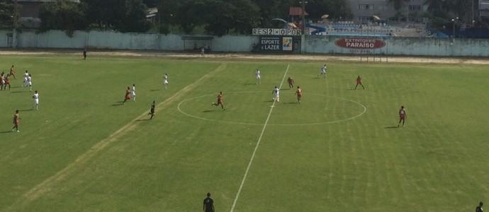 Resende decidiu a Copa Rio em casa, no Estádio do Trabalhador, contra a Portuguesa (Foto: Ellen Schaphauser/TV Rio Sul)