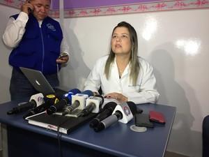 Conforme a diretora do instituto, Marcela Campelo, três corpos e uma cabeça ainda não foram identificados (Foto: Inaê Brandão/G1 RR)