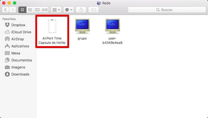 Abra o Time Capsule (Foto: Reprodução/Helito Bijora)