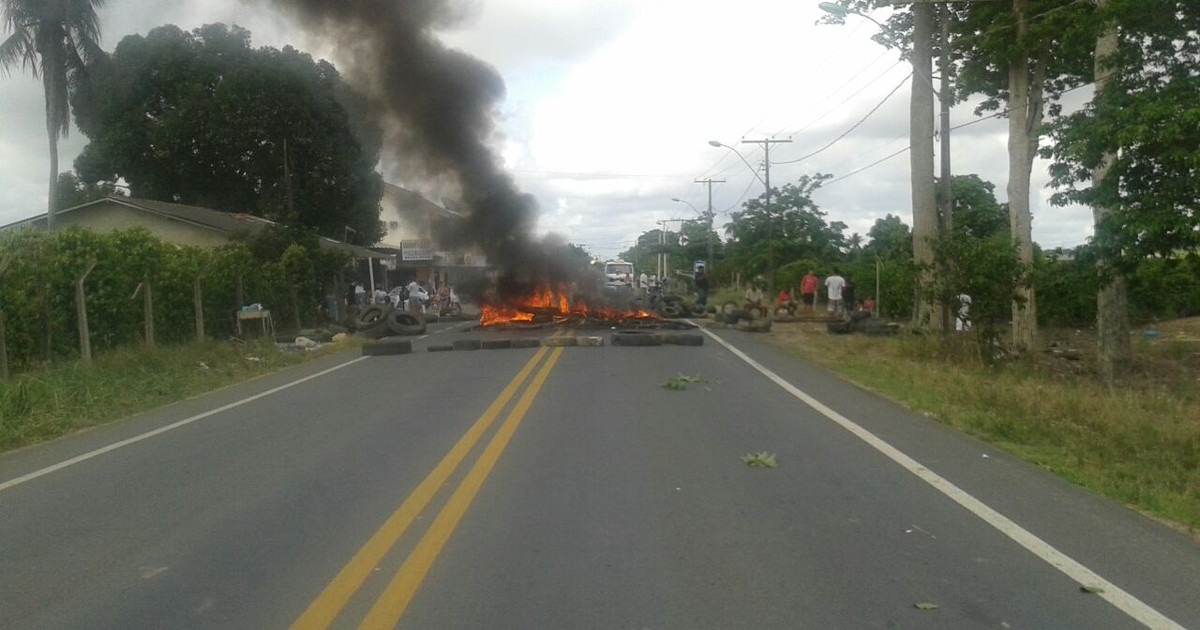 Moradores bloqueiam BR-381 após atropelamento no Norte do ES - Globo.com