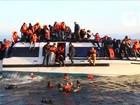 Naufrágio mata imigrantes no Mar Egeu