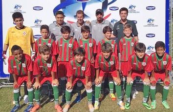 Portuguesa Santista Copa das Nações (Foto: Divulgação / Kourusport)
