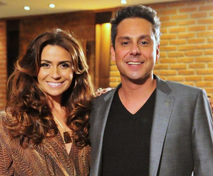Giovanna Antonelli e Alexandre Nero já deram vida ao casal Heloisa e Stenio, em 'Salve Jorge' (Foto: João Miguel Júnior/ Rede Globo)