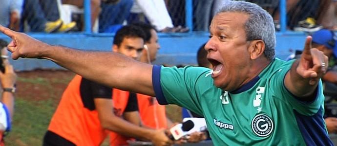 Hélio dos Anjos - técnico Goiás (Foto: Reprodução / TV Anhanguera)