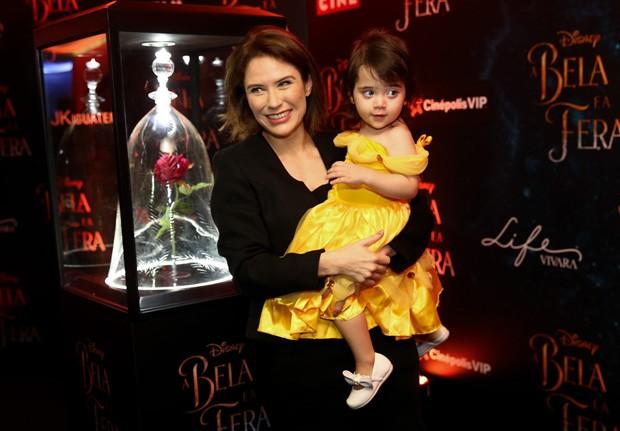 Rachel Ripani e a filha Giulia (Foto: Manuela Scarpa/Brazil News)