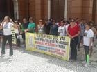 Trabalhadores protestam contra PL que vai extinguir cargos em Belém
