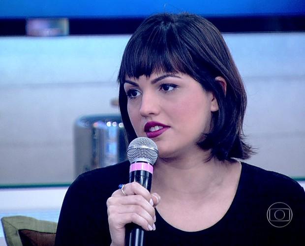 Mariana Cortines relembra seu grave acidente de carro (Foto: TV Globo)