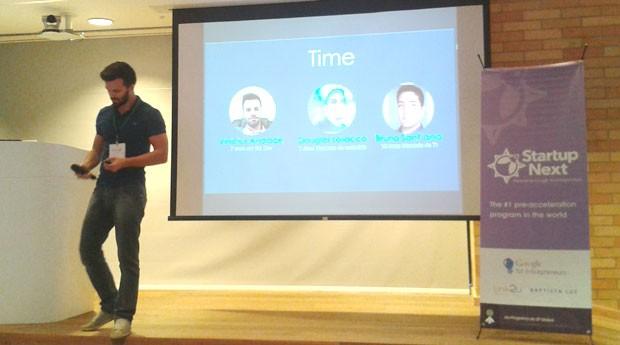 Startup Veester se apresenta no Startup Next (Foto: PEGN/Isabela Moreira)