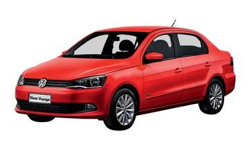 Volkswagen Voyage 2014 (Foto: Autoesporte)