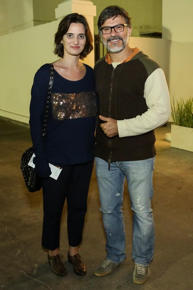 Christiana Kalache e Leonardo Vieira (Foto: Roberto Filho/Brazil News)
