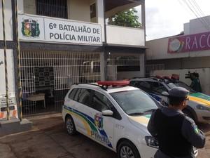 6º Batalhão de Polícia em Macapá recebeu o maior número de denúncias em 2013 (Foto: John Pacheco/G1)