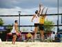 Brasil vence no masculino e perde  no feminino na estreia em Cincinnati