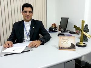 Pe Jefferson é diretor do Setor  Pré-Jornada  (Foto: Andressa Gonçalves)