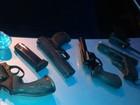 Após denúncia, seis são flagrados com armas em Volta Redonda, RJ