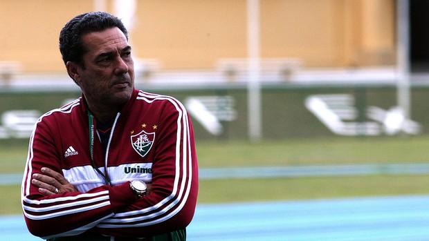 luxemburgo fluminense treino (Foto: Nelson Perez / FluminenseFC)