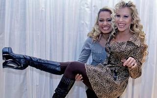 Natália Sarraff com Joelma (Foto: Divulgação)