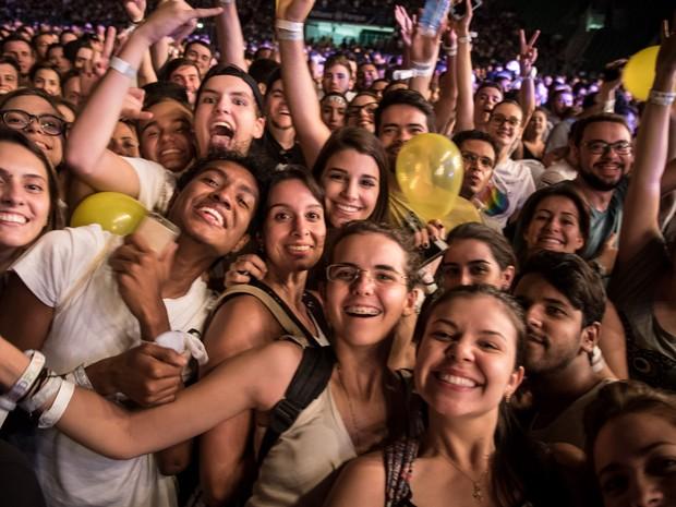 Coldplay em São Paulo (Foto: Fabio Tito / G1)