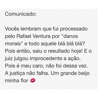 Post feito por Serginho (Foto: Reprodução/Facebook)