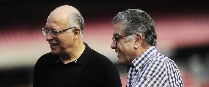 Ataíde Gil Guerreiro e Carlos Miguel Aidar (Foto: Marcos Ribolli)