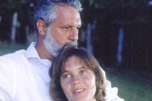 Inocêncio (Antonio Fagundes) e Mariana (Adriana Esteves) (Foto: CEDOC/TV Globo)