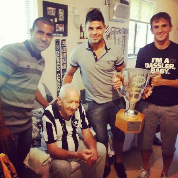 Nilton Santos Botafogo Taça Guanabara jogadores (Foto: Reprodução / Instagram)