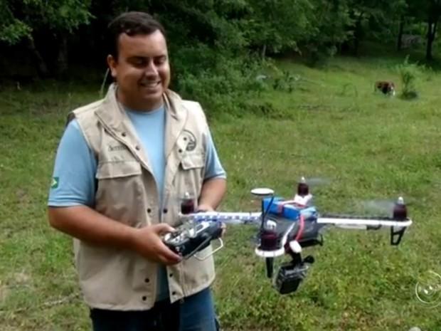 Lucas Munhoz faz parte da equipe do Planeta Extremo (Foto: Reprodução/TV TEM)