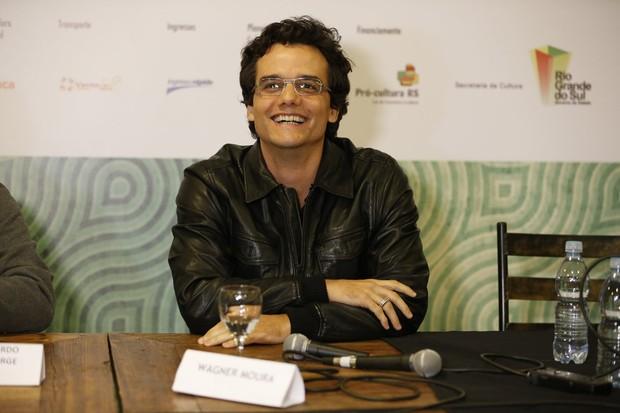 Wagner Moura nop Festival de Gramado (Foto: Felipe Panfili/AgNews)