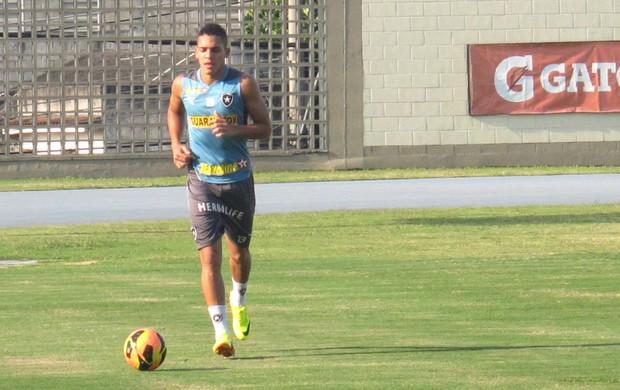 Gilberto Botafogo Treino (Foto: globoesporte.com)