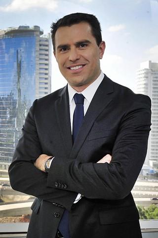 Rodrigo Bocardi, apresentador do Bom Dia São Paulo, que estreia no dia 18 o projeto Anda SP (Foto: Reinaldo Marques/Globo)