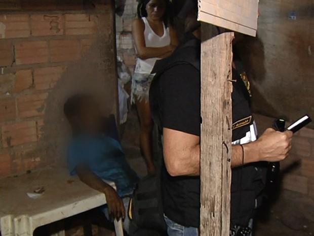 Edson Silva Ferreira foi atingido no peito, próximo ao coração (Foto: Reprodução/TV Tapajós)