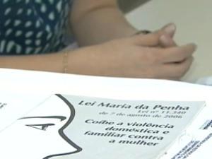 Lei Maria da Penha (Foto: Reprodução / RPC TV)