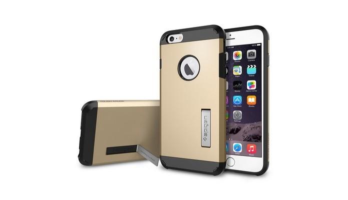 Capa para iPhone 6 Plus Spigen Tough Armor (Foto: Reprodução/Monkeybiz)
