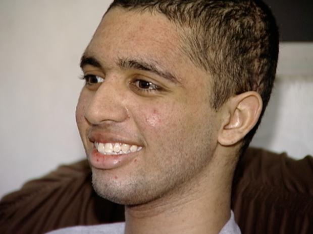 Jovem de 15 anos se recupera de cirurgia no ES (Foto: Reprodução/TV Gazeta)