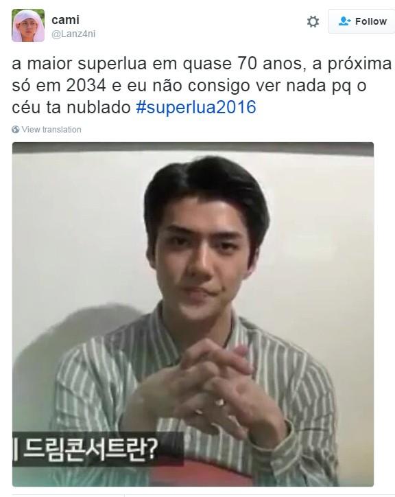 meme superlua 3 (Foto: Reprodução/Twitter)