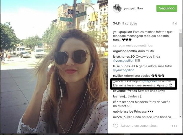 Fãs de Tiago Iorc e Isabelle Drummond torcem por volta do casal (Foto: Reprodução/Instagram)
