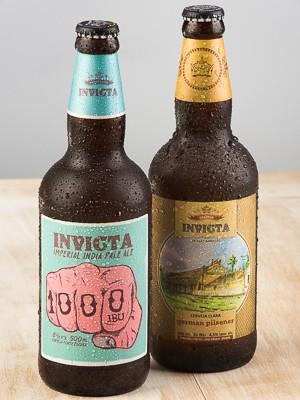 A cervejaria Invicta, de Ribeirão Preto, inova na mistura de adjuntos (Foto: Érico Andrade/G1)