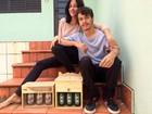 Para cobrir gastos no Lollapalooza, casal do AC faz e vende luminárias