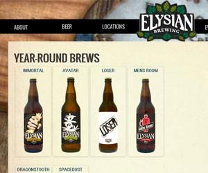 Elysian Brewing produz mais de 350 tipos de cerveja nos EUA (Foto: Reprodução)