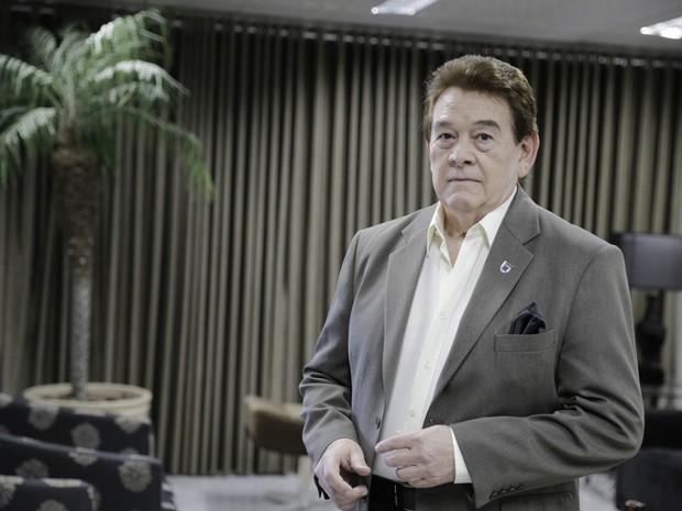 Cantor Raimundo Arrais morreu às 18h30 desta quarta em hospital particular (Foto: Lucas de Menezes/Agência Diário)