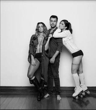 Camila Lucciola, Joaquim Lopez e Priscila Fantin (Foto: Jorge Bispo)