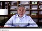 TSE manda Google excluir vídeo em que Lula pediria voto em Marina