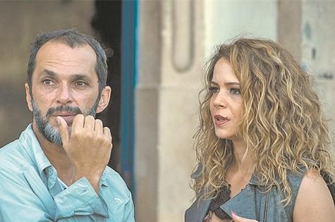 Leandra Leal e José Luiz Villamarim (Foto: Divulgação)